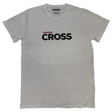 Cross t-paita, valkoinen